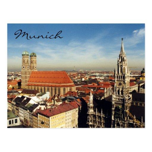 München-Stadt Postkarten