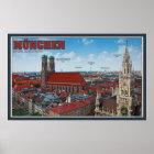 München-Stadtbild Poster