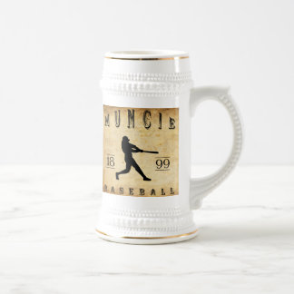Muncie Indiana Baseball 1899 Bierglas