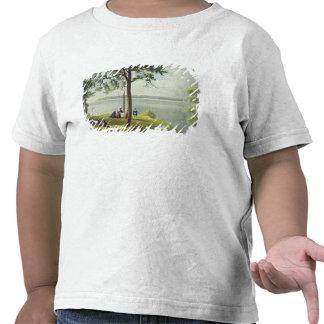 Mund der Seines von den Ansichten über die Seine T-Shirts
