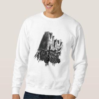 Mund Entwurfsstrickjacke Sweatshirt