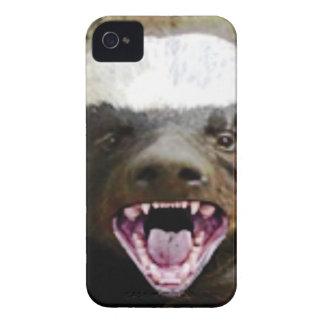 Mundbiss-Honigdachs iPhone 4 Case-Mate Hülle