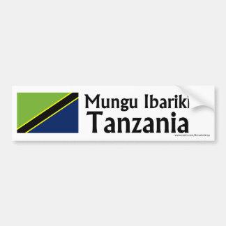 Mungu Ibariki (Gott segnen), Tanzania Autoaufkleber