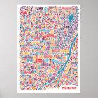 Munich City Map Poster