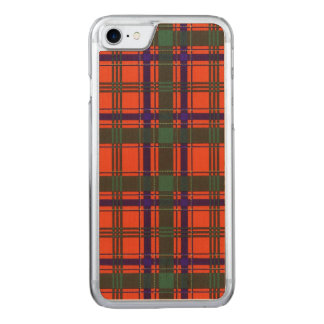 Munro Clan karierter schottischer Tartan Carved iPhone 8/7 Hülle