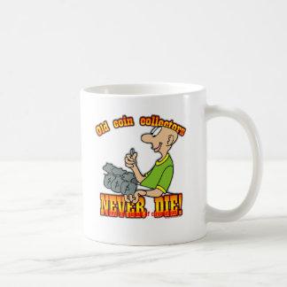 Münzsammler Kaffeetasse