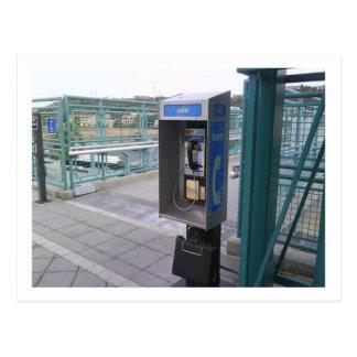 Münztelefon-Postkarte Postkarte