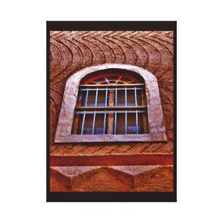 Murabba-Palast-Fenster Leinwanddruck