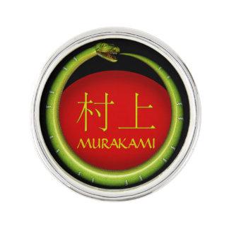 Murakami Monogramm-Schlange Anstecknadel