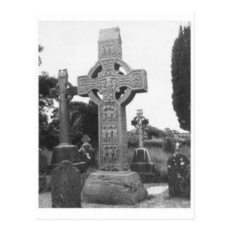 Murdochs Kreuz des 9. Jahrhunderts, Irland Postkarte