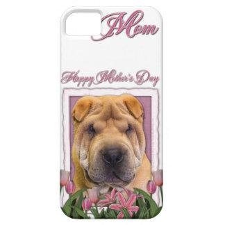 Murmeln-Umbau - Rosa Tulpen - Chinese Shar Pei Etui Fürs iPhone 5