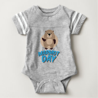 Murmeltier-Tag - Anerkennungs-Tag Baby Strampler