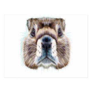 Murmeltier-Tag - Anerkennungs-Tag Postkarte