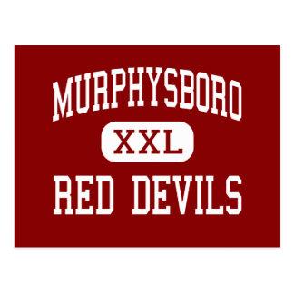 Murphysboro - rote Teufel - hoch - Murphysboro Postkarte