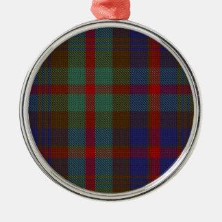 Murray Athol Tartan-der erstklassigen Silbernes Ornament