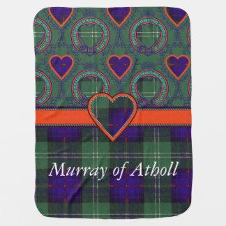 Murray Atholl Clan karierten schottischen Kilt Babydecke