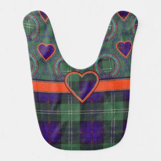 Murray Atholl Clan karierten schottischen Kilt Babylätzchen