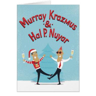 Murray Krazmus u. Hal P. Nuyar Weihnachtskarte Karte