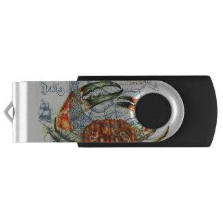 mürrische Karte Starfish USB Stick