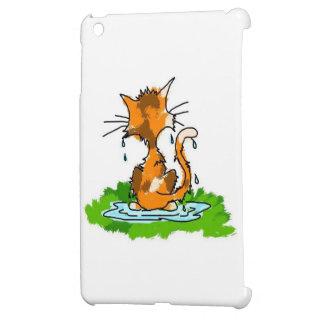 Mürrische Katze Hülle Für iPad Mini