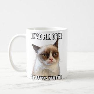 Mürrische Katzen-Tasse