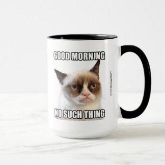 Mürrischer Cat™ guter Morgen - keine solche Sache Tasse
