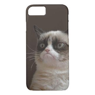 Mürrischer Katzen-greller Glanz iPhone 7 Hülle