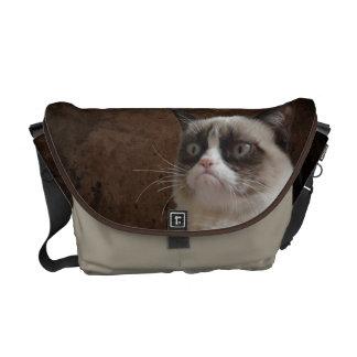 Mürrischer Katzen-greller Glanz Kuriertasche