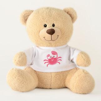 Mürrischer Krabben-Entwurfs-Teddybär Teddy