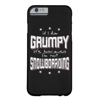 MÜRRISCHER nicht SNOWBOARDING (weiß) Barely There iPhone 6 Hülle