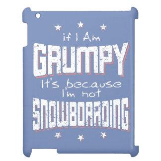 MÜRRISCHER nicht SNOWBOARDING (weiß) iPad Hülle