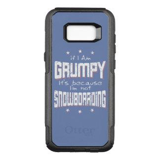 MÜRRISCHER nicht SNOWBOARDING (weiß) OtterBox Commuter Samsung Galaxy S8+ Hülle
