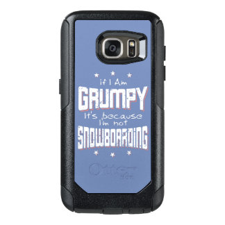 MÜRRISCHER nicht SNOWBOARDING (weiß) OtterBox Samsung Galaxy S7 Hülle