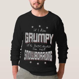 MÜRRISCHER nicht SNOWBOARDING (weiß) Sweatshirt