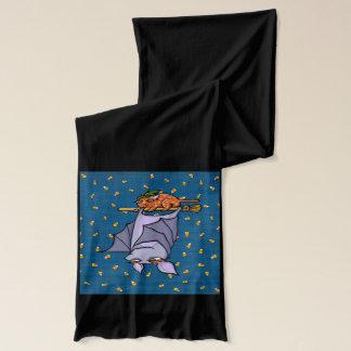 Mürrischer Schläger-Katzen-Halloween-Schal Schal