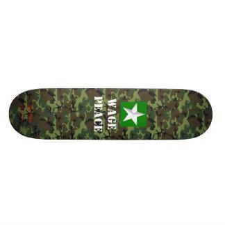 Musashi entwirft Frieden Skateboardbrett