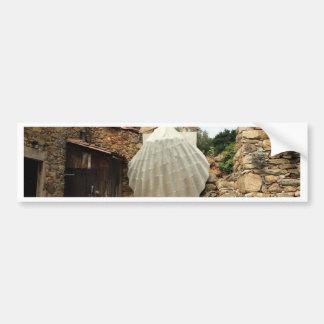 Muschel der riesigen Kamm-Muschel, EL Camino Autoaufkleber