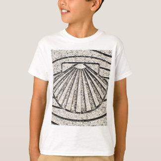 Muschel EL Camino, Plasterung, Spanien T-Shirt