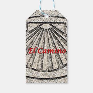 Muschel EL Camino, Plasterung, Spanien (Titel) Geschenkanhänger