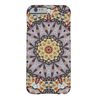Muschel Mandala-Geheimnis des Meeres Barely There iPhone 6 Hülle