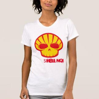 """""""Muschel nein!"""" zur arktischen Bohrung T-Shirt"""