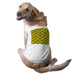 Muschel-und Blumen-Gelb Shirt