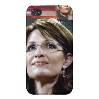 Muschelabdeckung Falles Sarahs Palin Iphone harte iPhone 4 Cover
