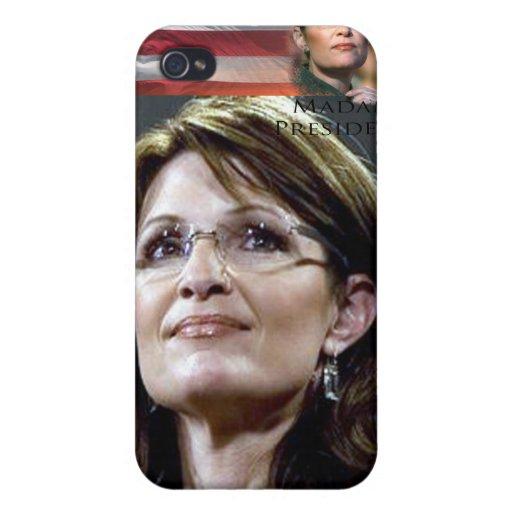 Muschelabdeckung Falles Sarahs Palin Iphone harte Etui Fürs iPhone 4