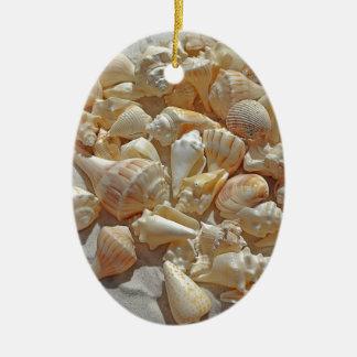 Muscheln BG Keramik Ornament