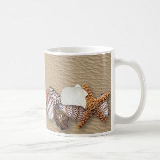 Muscheln Kaffeetasse