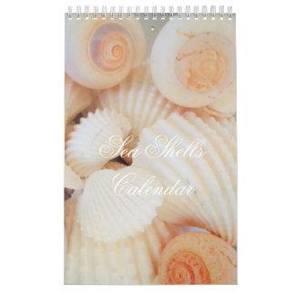 Muscheln tragen exotisches tropisches romantisches kalender