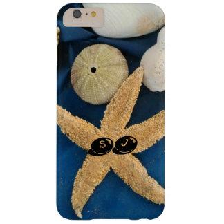 Muscheln und Bengel mit Ihren Initialen - Barely There iPhone 6 Plus Hülle