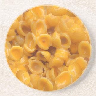 Muscheln und Käse Getränkeuntersetzer