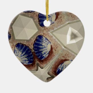 Muscheln und mehr keramik ornament